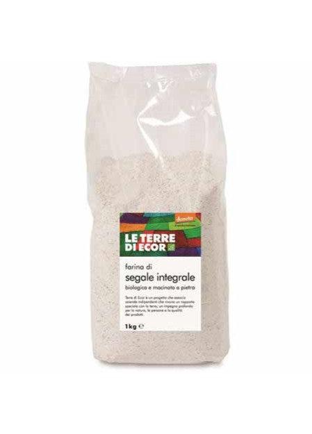 Wholemeal Rye Flour Demeter 1kg Le Terre di Ecor