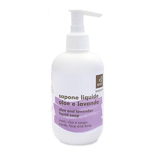 Aloe & Lavender Liquid Soap 250ml Ecor