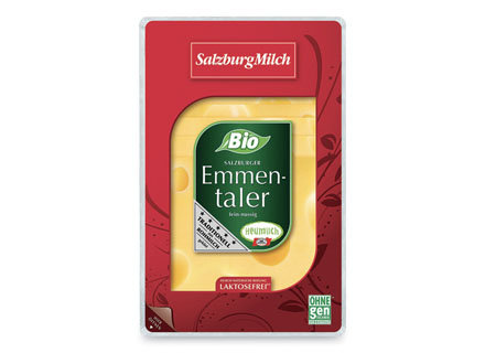 Emmental Sliced 100g (naturally lactose free) Raw Milk