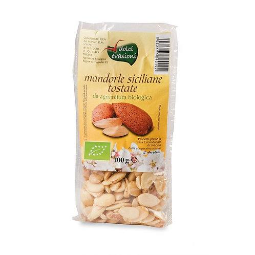 Toasted & Shelled Sicilian Almonds 100g Dolci Evasioni