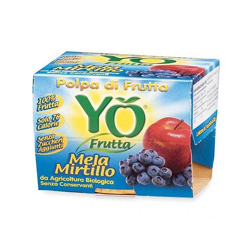 Yo Frutta Apple & Blueberry Pulp 200g