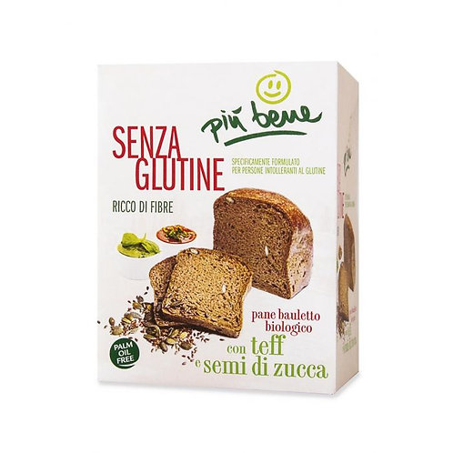 Sliced Gluten-Free Bread with Teff & Pumpkin Seeds 250g