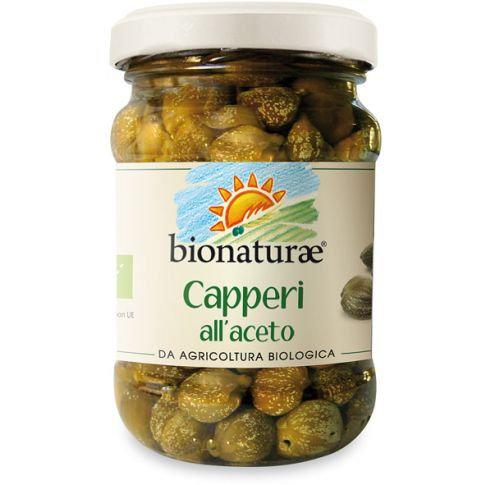 Capers in Wine Vinegar 95g Bionaturae