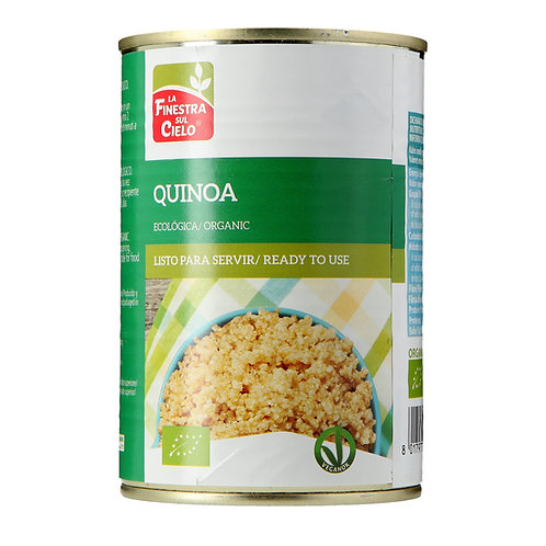 Boiled Quinoa 400g La Finestra Sul Cielo
