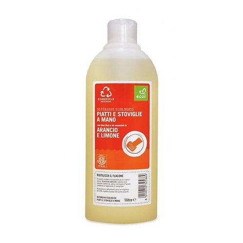 Dishwashing Liquid with Orange & Lemon 1L Ecor
