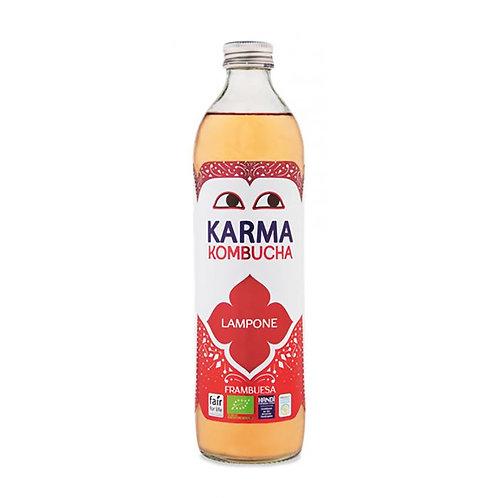 Kombucha Fermented Green Tea Drink With Raspberries 500ml