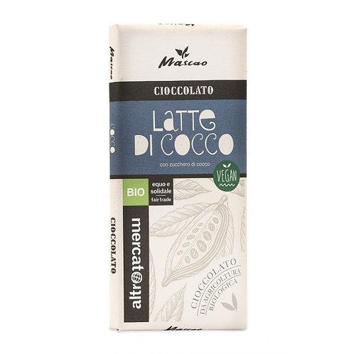Mascao Chocolate with Coconut Milk 80g