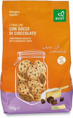 Semi-Wholemeal Shortbread Chocolate Chips Cookies 350g