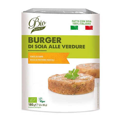 Burgers with Soy and Vegetables 180g