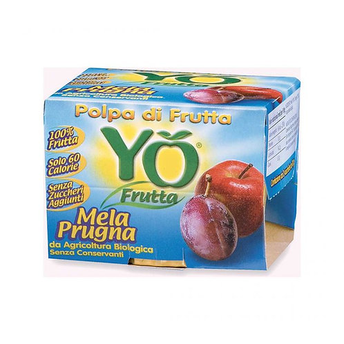 Yo Frutta Apple & Prune Pulp 200g