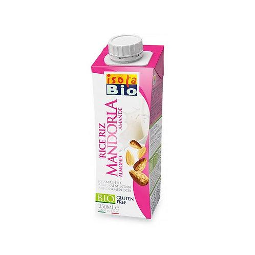 Rice & Almond Drink Isola Bio 250ml