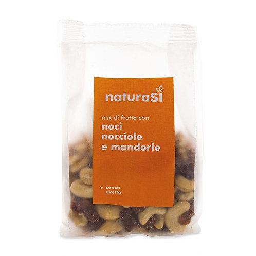 Walnuts, Hazelnuts & Almonds Nut Mix 175g NaturaSi