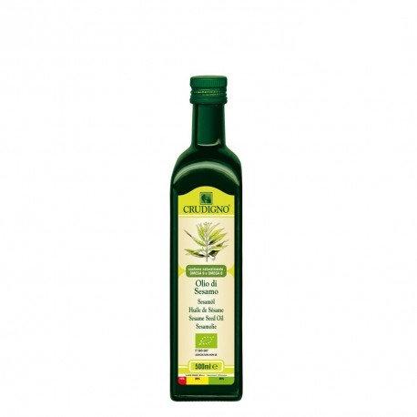 Sesame Seed Oil 500ml Crudigno