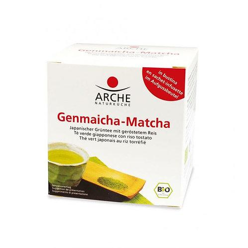 Genmaicha-Matcha Green Tea in Filters 15g Arche