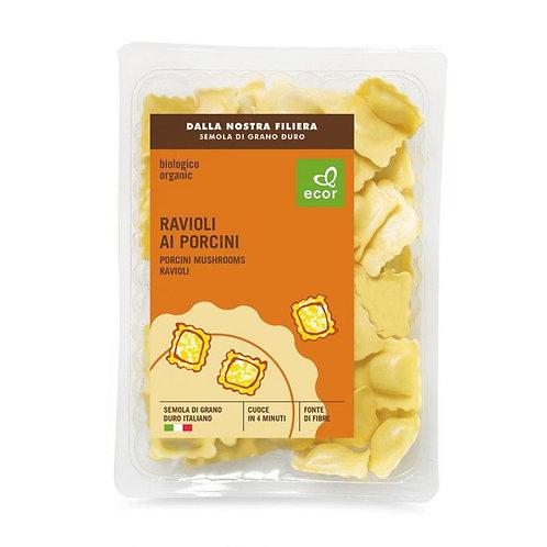 Durum Wheat Ravioli with Porcini Mushrooms Filling 250g Ecor