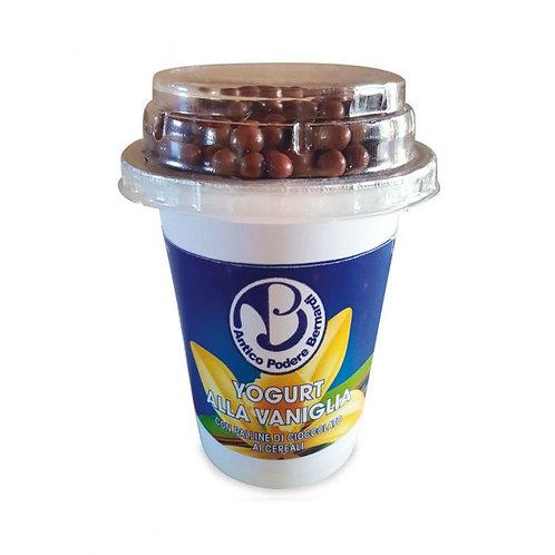 Vanilla Yogurt with Chocolate Balls 150g