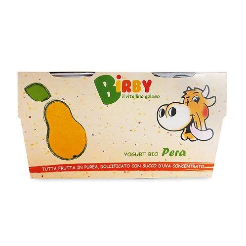 Yoghurt Birby Pear 2x115g
