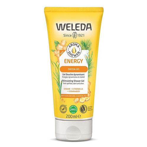 Stimulating Shower Gel Ginger, Citronella & Cedarwood 200ml Weleda