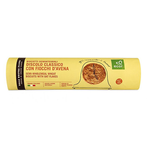 Semi-Wholemeal Wheat Biscuits with Oat Flakes 250g