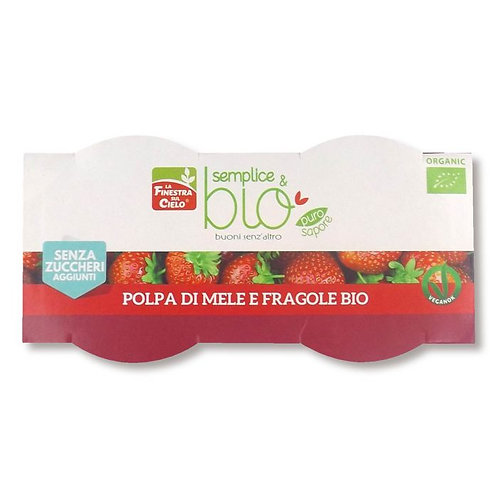 Apple & Strawberry Pulp 200g La Finestra Sul Cielo