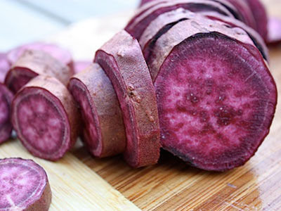 Potatoes Sweet Purple Demeter per kg
