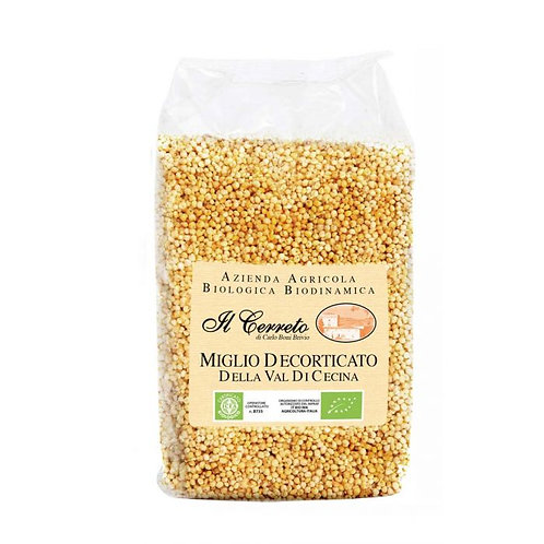 Shelled Millet 400g Il Cerreto