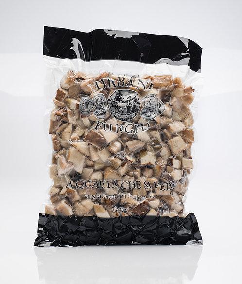 Frozen Cubed Porcini Mushrooms 300g
