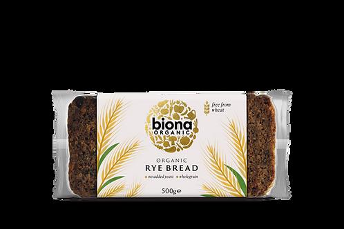 Rye Bread 500g Biona