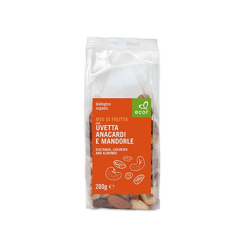 Mixed Nuts with Sultanas, Cashews and Almonds 200g
