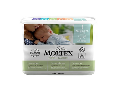 Nappies Junior No.1 2-4Kg x22