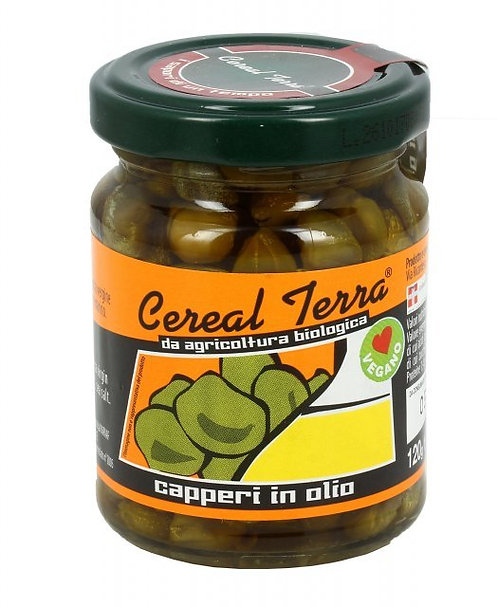 Capers in Oil 120g Cereal Terra