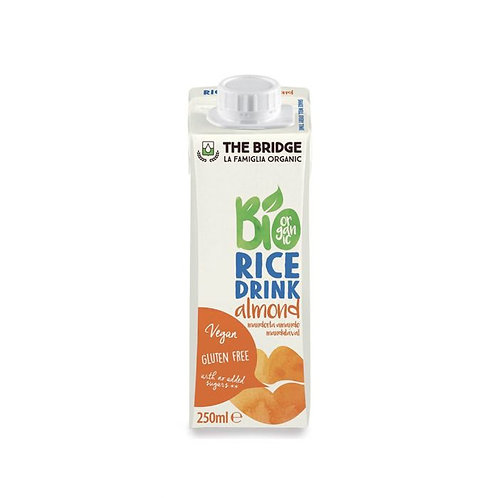 Rice & Almond Drink The Bridge 250ml