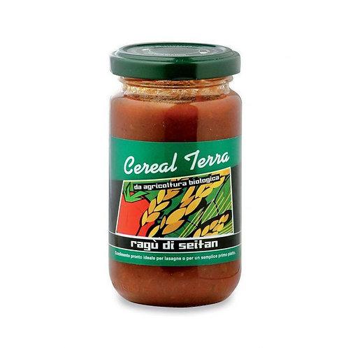 Tomato Sauce with Seitan 190g Cereal Terra