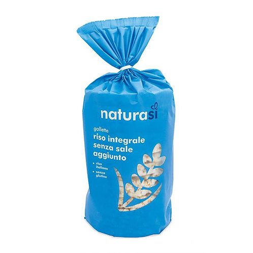 Wholemeal Rice Cakes Without Added Salt 100g