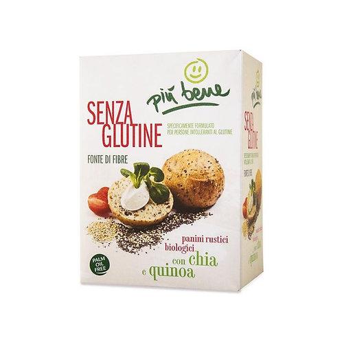 Rustic Panini with Chia Seeds & Quinoa 125g