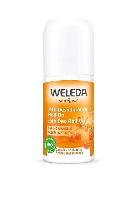 24hr Deodorant Roll-On Sea Buckthorn 50ml Weleda