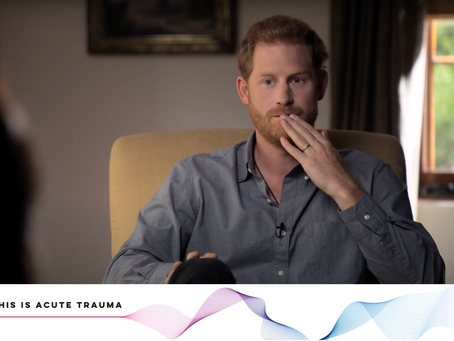 What Prince Harry can tell us about Acute Trauma