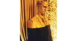 Gold Bust Statue
