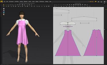 Costume 3D design