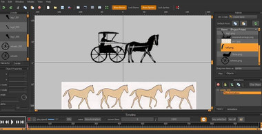 Spriter horse animations