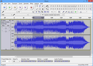 Audacity Sound Edits
