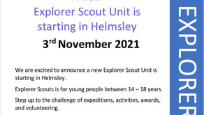 Explorers is starting up in Helmsley