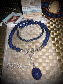 EGC Lapis Lazuli Toggle Necklace