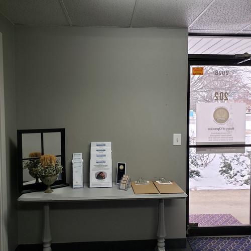 Front Door - Information Table