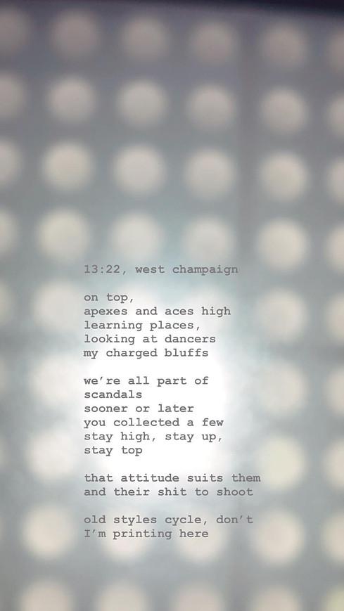13:22, west champaign