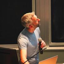 Mike O'Donnel presenting seminar