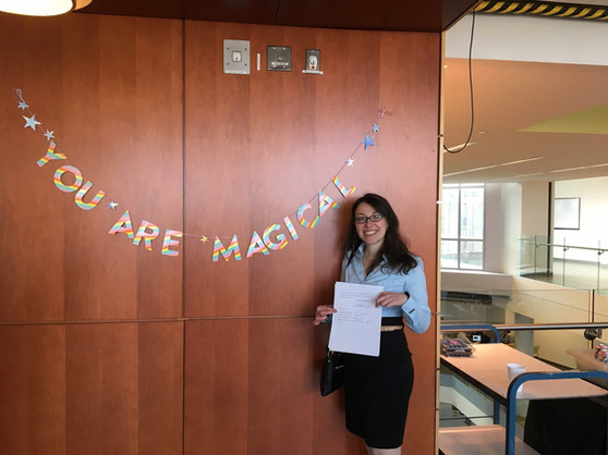 Anna K successfully defends her PhD thesis