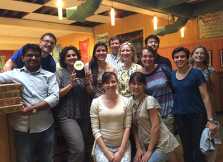 Dinner with past and present people - lab's 20th reunion - 2016