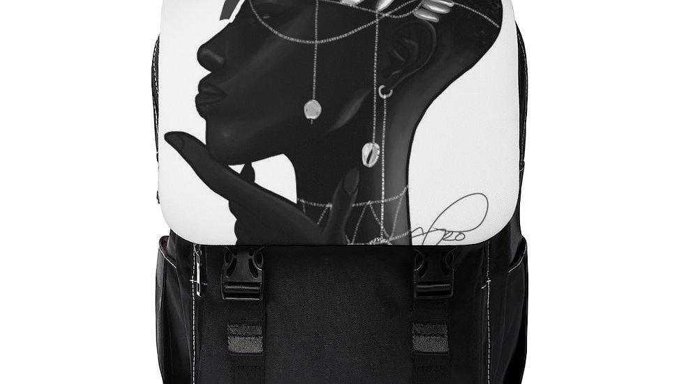 """""""black"""" Unisex Casual Shoulder Backpack"""