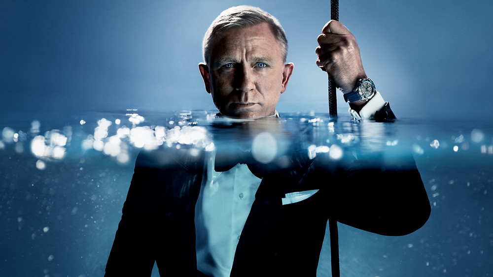 Daniel Craig James Bond 2018 2019 Omega #SeamasterDiver 300m Malaysia
